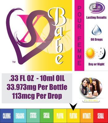 Babe - Pheromone Oil for Women